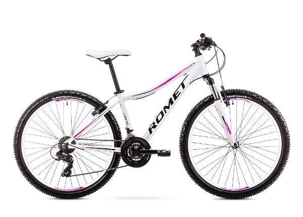 Naiste mägijalgratas 17 M Rower ROMET JOLENE 6.1 valge