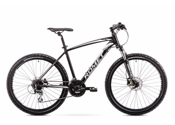 Meisten maastopyörä 20 XL Rower ROMET RAMBLER R6.4 musta-hopea