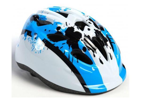 Lasten pyöräilykypärä Volare sininen 47-51 cm