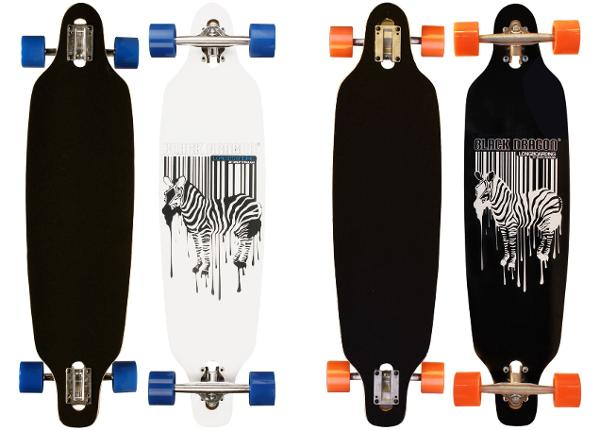 Longboard Jungle Black dragon
