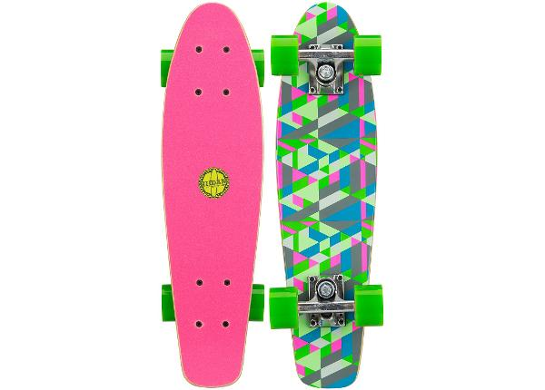 "Rula Pennyboard puust 22.5"" Flip Board Black Dragon"