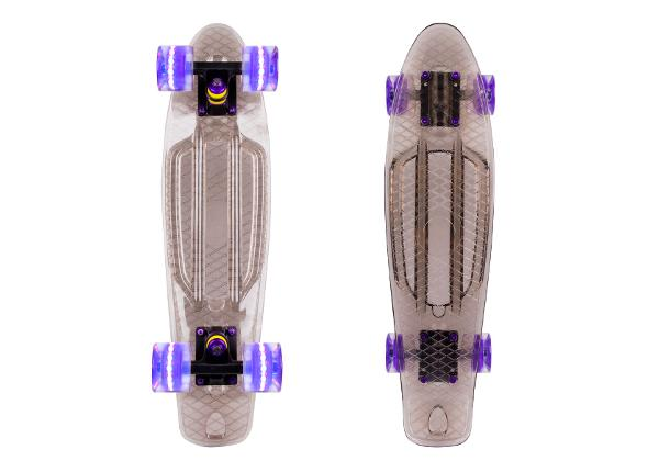 "Скейтборд Penny Board WORKER Transpy 200 22"" with Light Up Wheels"