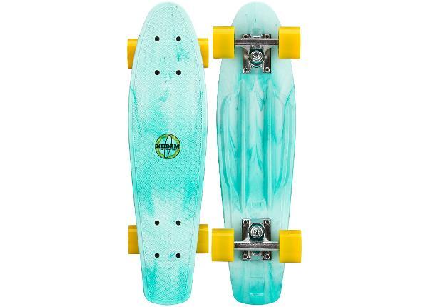 "Rula pennyboard plastikust 22.5"" Splash dye Nidjam"