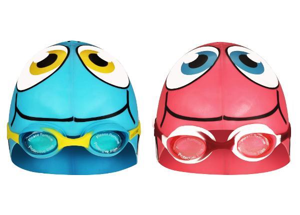 Шапочка для плавания с очками Waimea