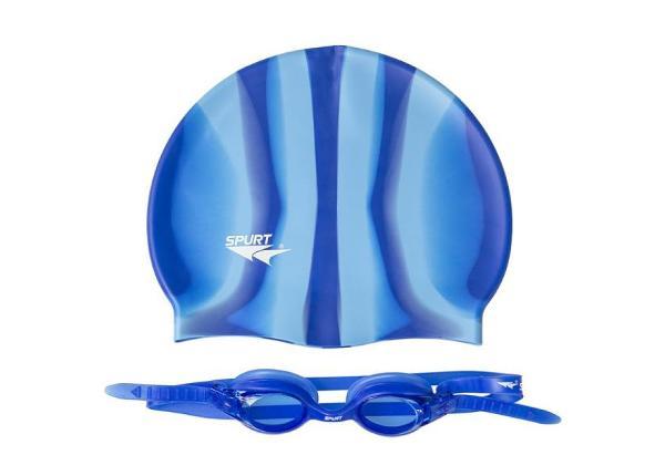 Набор для плавания для взрослых ZEBRA SPURT SET SIL-20 AF TC-156639