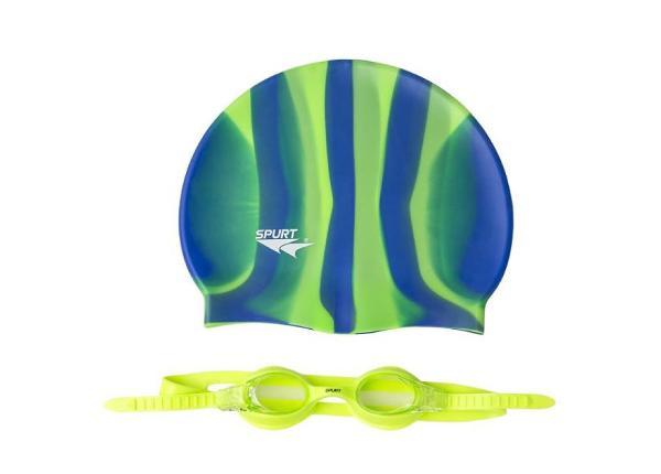 Набор для плавания для взрослых ZEBRA SPURT SET SIL-20 AF TC-156671