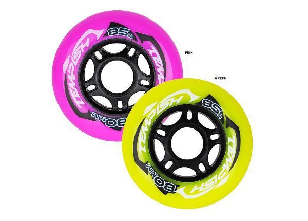 Rullaluistimien pyörät Radical Color 80x24 84A Tempish