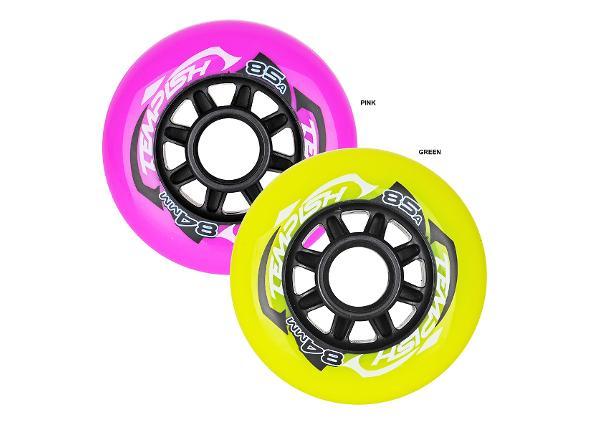Rullaluistimen pyörät Radical Color 84x24 84A Tempish