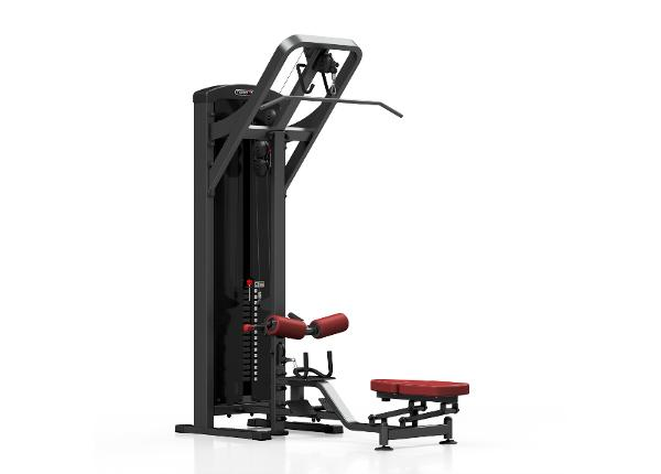 Ülatõmbe ja sõude trenažöör raskustega 2-in-1 Marbo Sport