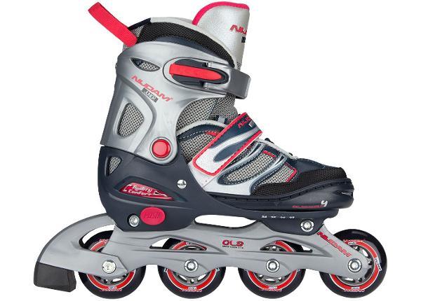 Laste Rulluisud Inline Skates Adjustable Semi-Softboot Nijdam