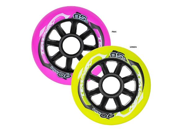 Rulluisu rataste komplekt Radical Color 90x24 85A Tempish
