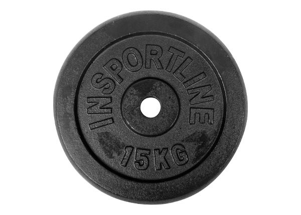 Levypaino 15 kg inSPORTline
