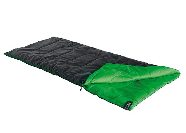 Makuupussi High Peak Patrol, musta/vihreä HU-160060