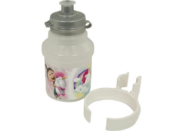 Joogipudel hoidjaga Minions Fluffy 350 ml