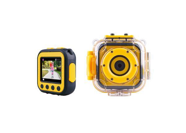 Lasten videokamera ulkokäyttöön inSPORTline KidCam