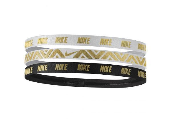 Juuksekummid sportimiseks 3 tk Nike Hairbands