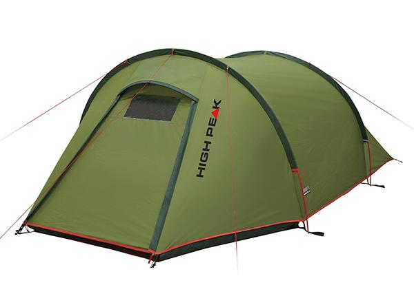 Палатка High Peak Kite 2, темно-зеленая