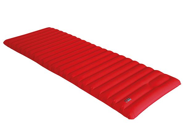 Ilmapatja integroidulla pumpullHigh Peak Dallas 197x70x10 cm, punainen