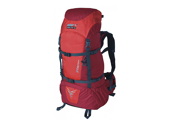 Рюкзак High Peak Stratos 65 L, красный