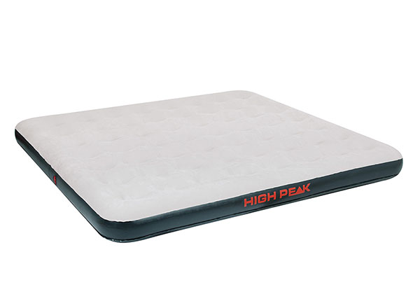 Õhkmadrats High Peak King 200x185x20 cm, hall/tumehall