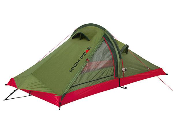 Teltta High Peak Siskin 2, pesto/punainen