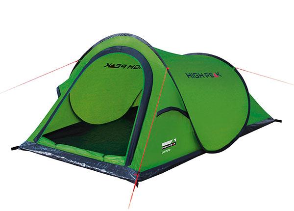 PopUp teltta High Peak Campo 2, vihreä/tummanharmaa