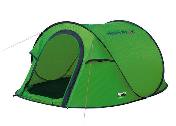 PopUp teltta High Peak Vision 3, vihreä
