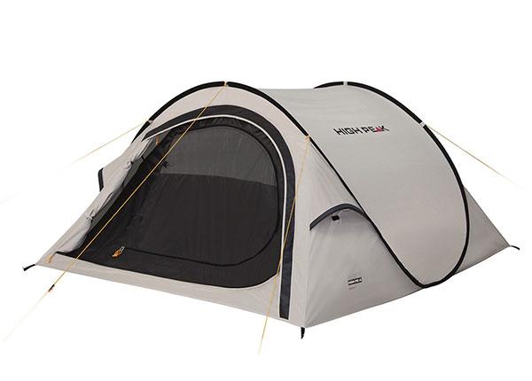 PopUp teltta High Peak Boston 3, harmaa