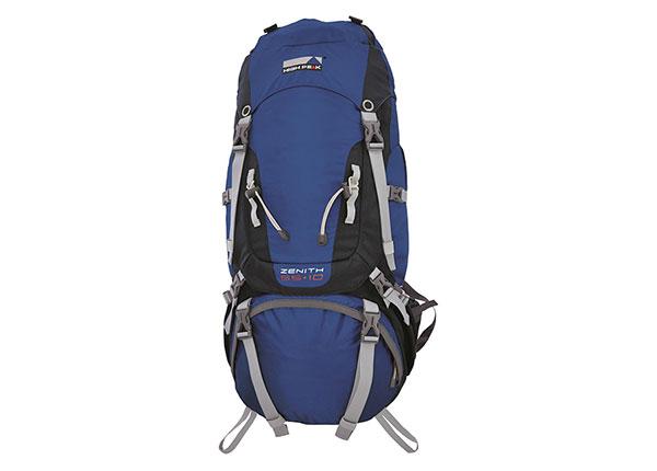 Selkäreppu High Peak Zenith 55+10 L, sininen/tummanharmaa HU-160490