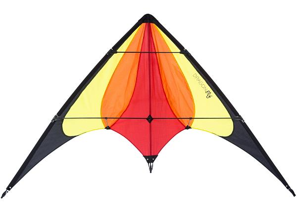 Tuulelohe trikitamiseks Stunt Kite Halny 140 Dragon Fly