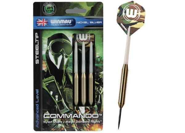 Noolemängu noolte komplekt Winmau Commando Steel 21g