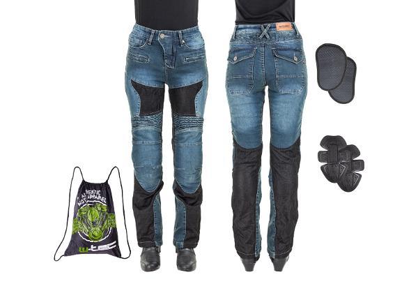 Женские мотоциклетные джинсы W-TEC Bolftyna