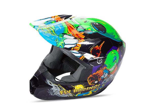 Motokrossikiiver lastele Fly Racing Kinetic Youth Invasion