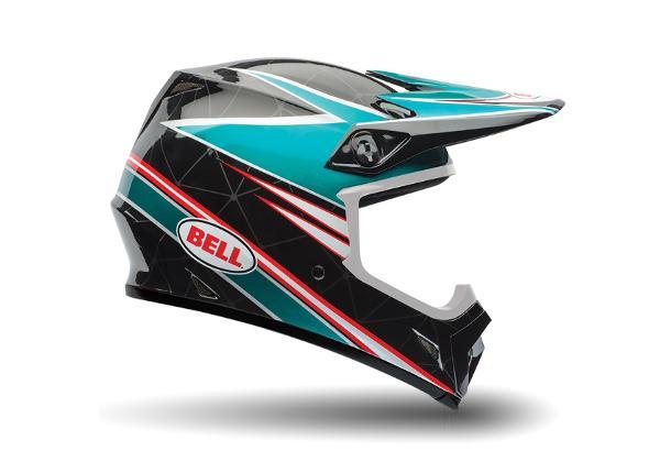 Кроссовый шлем BELL MX-9 Airtrix Paradise