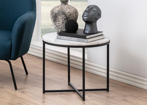 Журнальный стол Cross Ø 55 cm