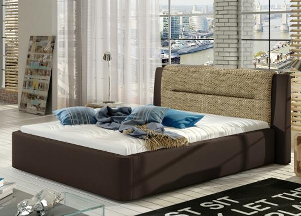 Pesukastiga voodi 140x200 cm