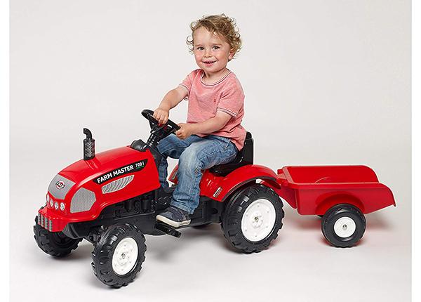 Traktor Farm Master käruga