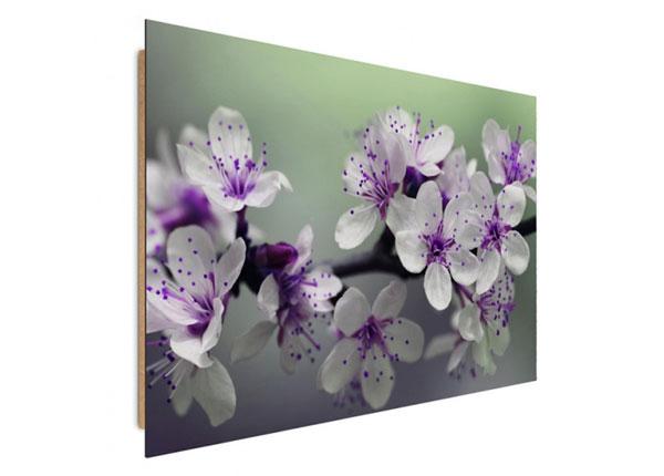 Seinätaulu Flowering trees 80x120 cm