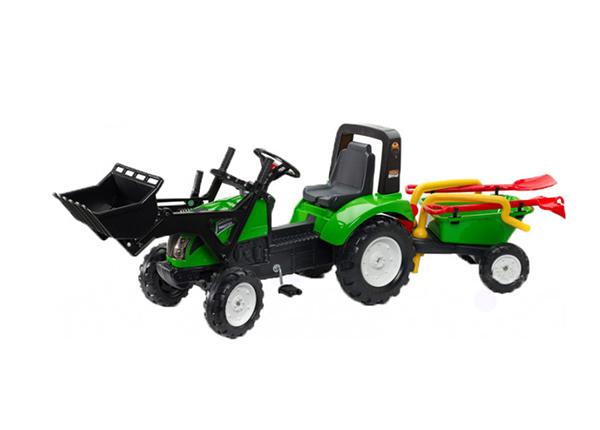 Traktor Garden Master käruga