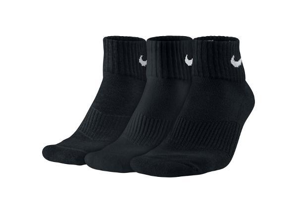 Aikuisten sukat Nike Cotton Cushion 3-pakk SX4703-001