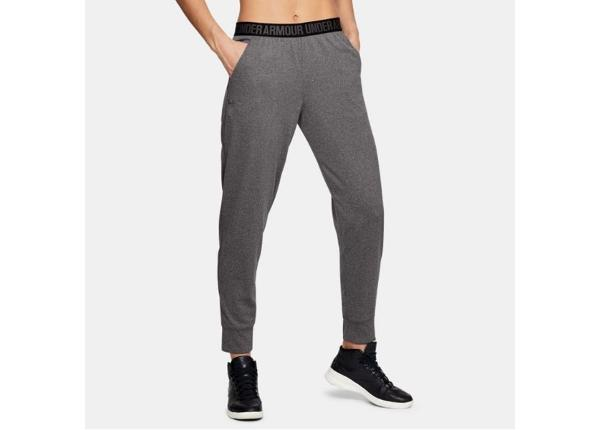 Naiste dressipüksid Under Armour Pla Up Pant Solid W 1311332-090