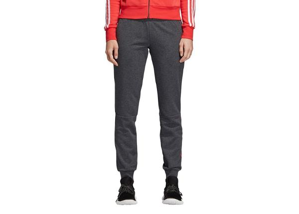 Naisten verryttelyhousut adidas Essential Linear Sweatpants W CF8858
