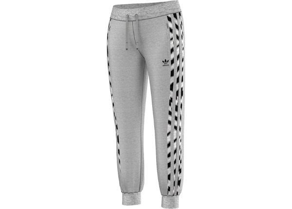 Naiste dressipüksid adidas Originals Zebra Flock W M30507