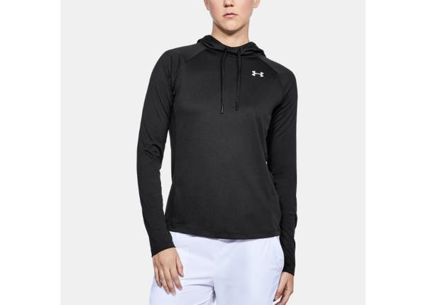 Naiste jooksu dressipluus Under Armour Tech LS Hood 2.0 Solid W 1311502-001