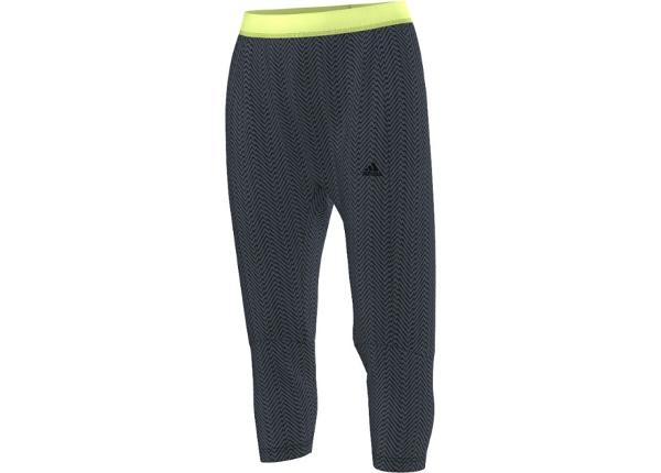 Naisten verryttelyhousut adidas Gym Style 3/4 Pant W AB5847