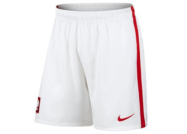 Miesten jalkapalloshortsit Nike Polska Away Stadium M 724631-100