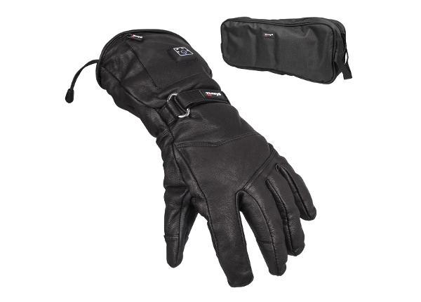 Кожаные лыжные перчатки с подогревом Glovii GS5