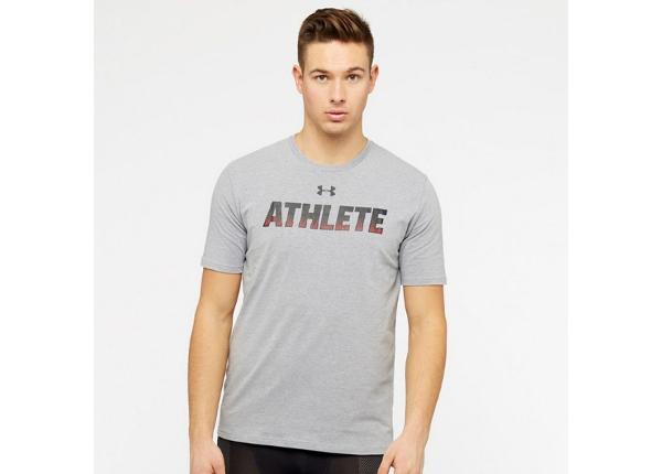 Miesten vapaa-ajanpaita Under Armour Athlete SS M 1305661-035
