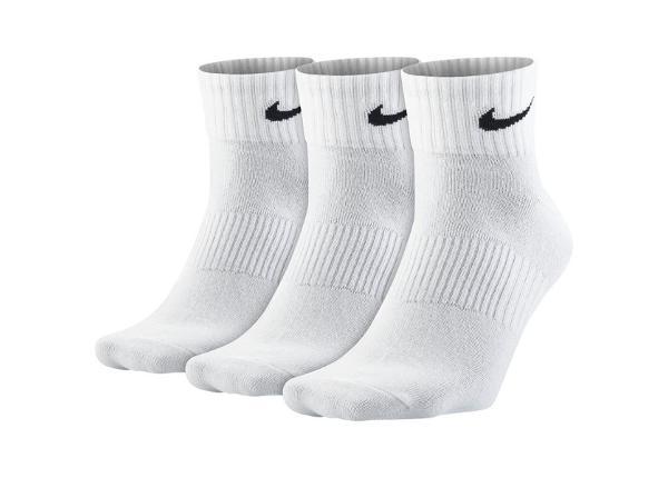 Aikuisten sukat Nike Leightweight Quarter 3-pakkaus SX4706-101 TC-164363