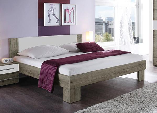 Sänky ja joustinpatja Omini Bonell 160x200 cm
